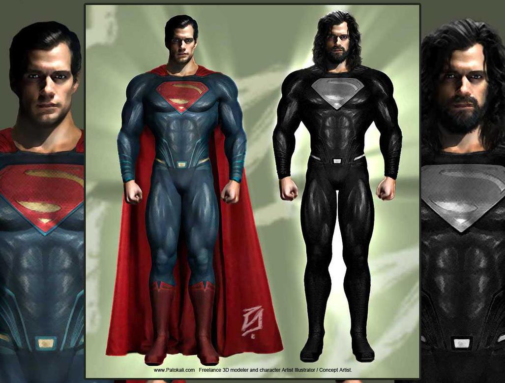 SupermanBlackPatokali-02 by patokali