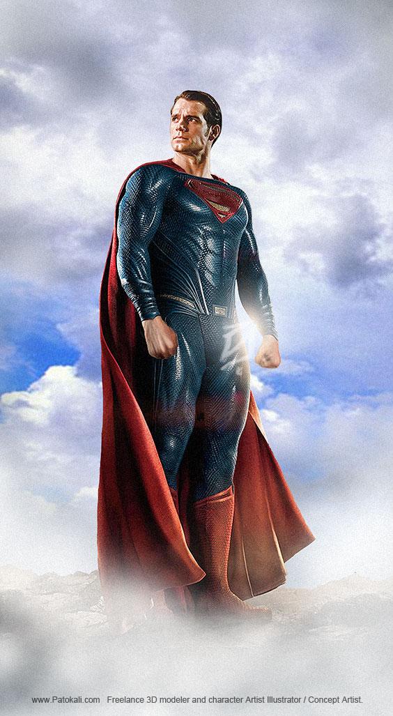 Superman-Patokali by patokali