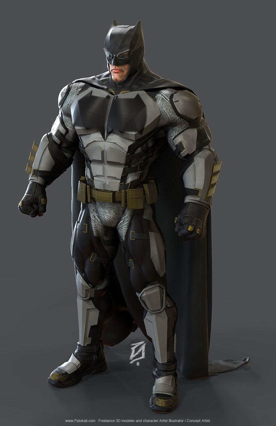 Batman-JLA-ToonKS5 by patokali