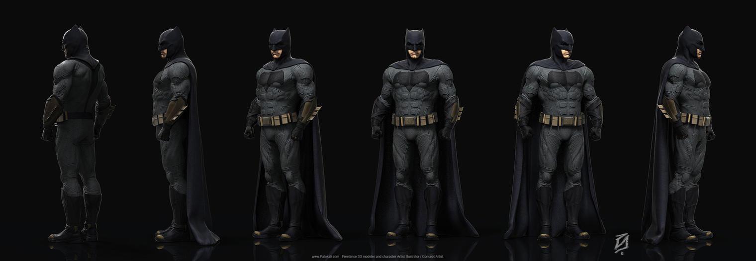 Batman JLA by patokali