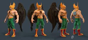 Hawkman by patokali