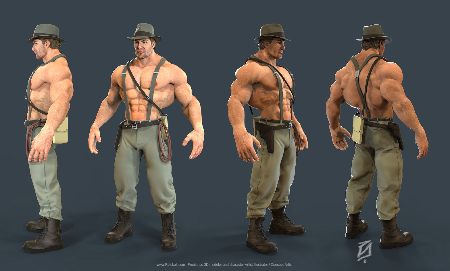 Indiana-Jones by patokali