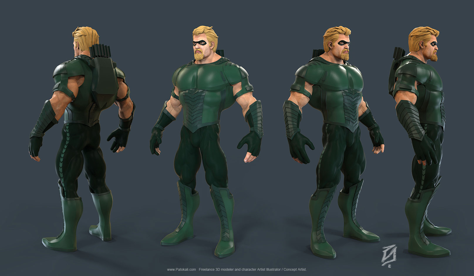 Green-Arrow by patokali