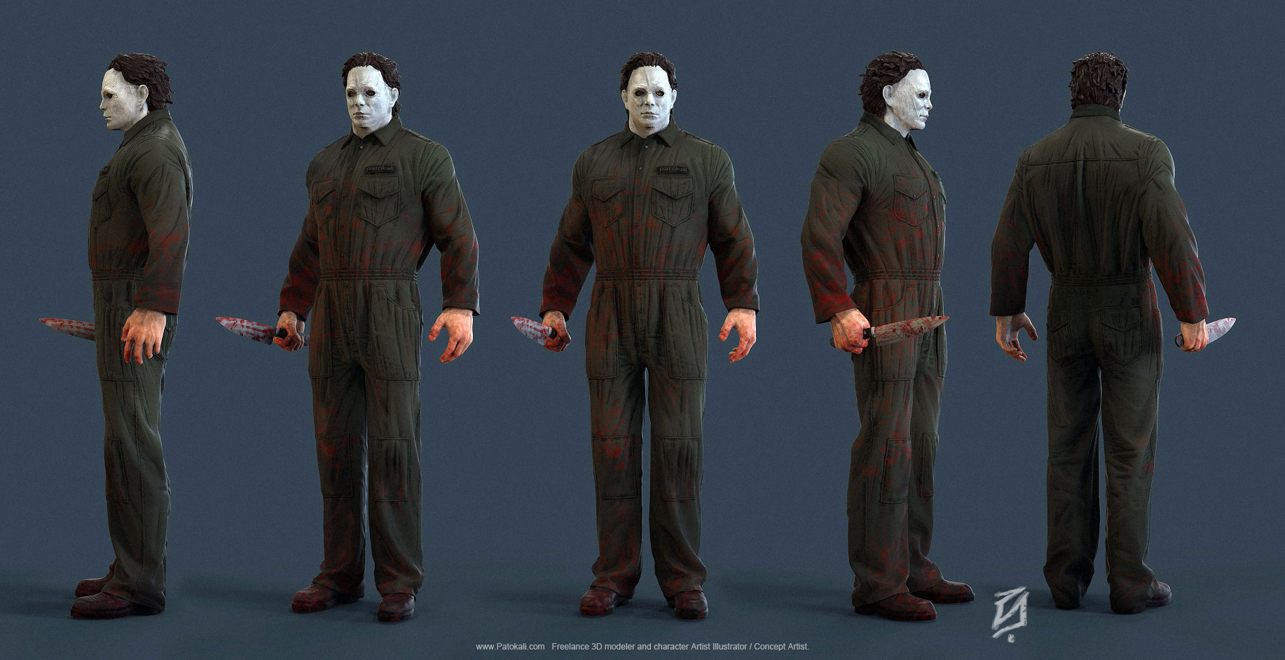 Michael-Myers-KS-Pose by patokali