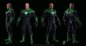 Green-Lantern-Toon by patokali