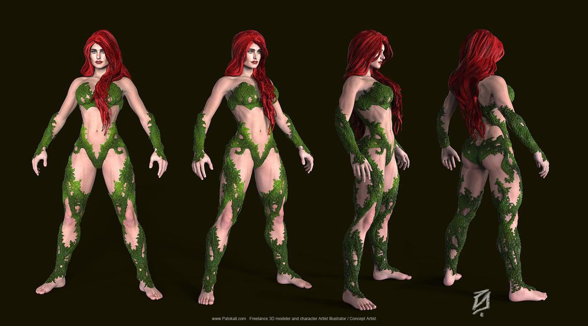 Poison-Ivy-Bulk-Toon-KS by patokali