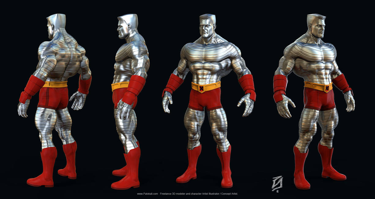 Colossus-Toon by patokali