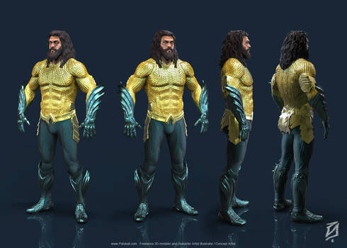 01-Aquaman-KS by patokali