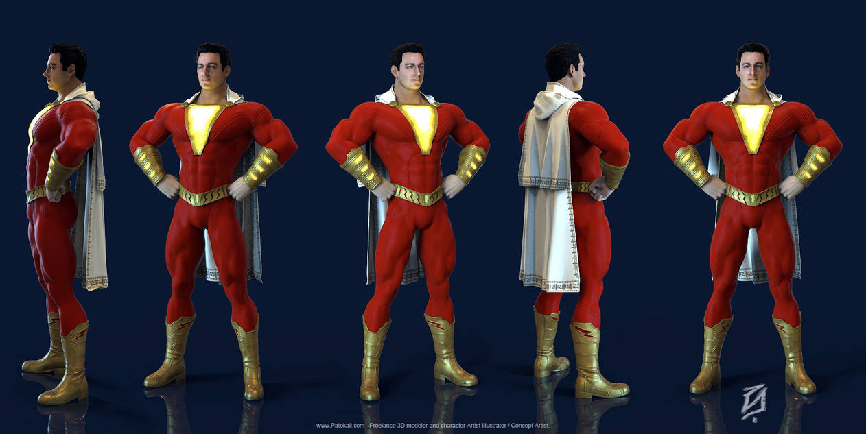 Shazam-KS-19 by patokali