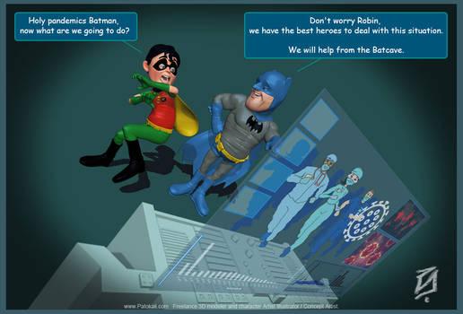 Batman-Robin-Covid19