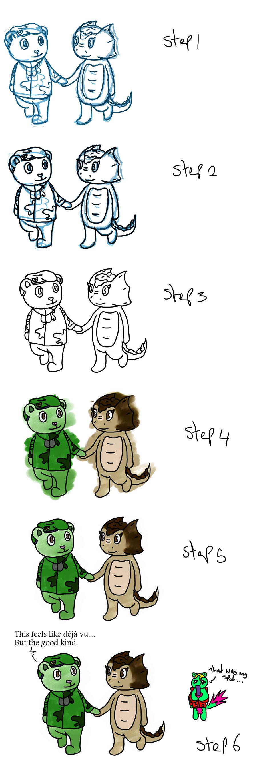 pilkey com how to draw flippy