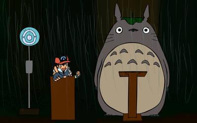 My Pokemon Totoro by Lokier-Ame
