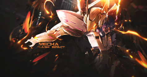 Mecha Orange Impact by GreenMotion