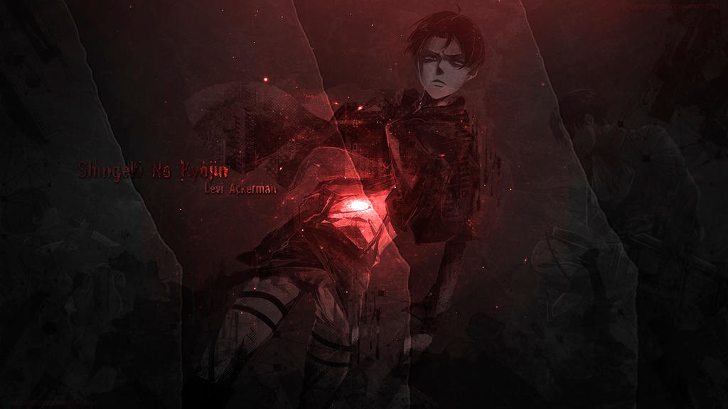 Wallpaper Levi Ackerman By Greenmotion On Deviantart