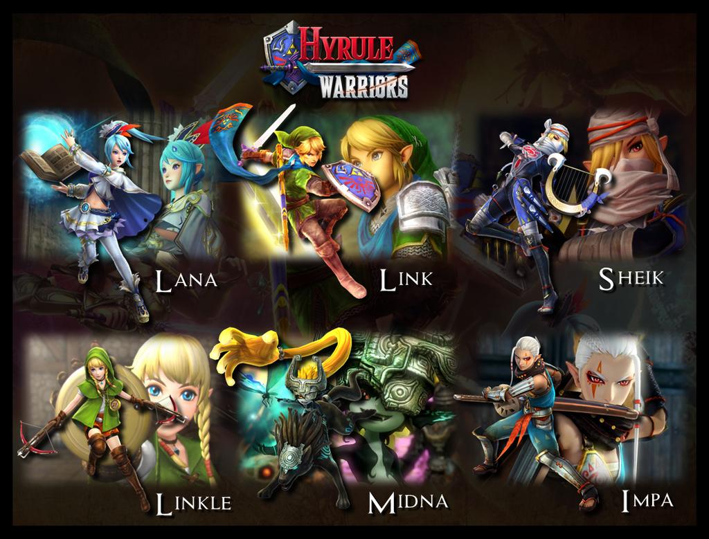 Characters - Hyrule Warriors for Wii U