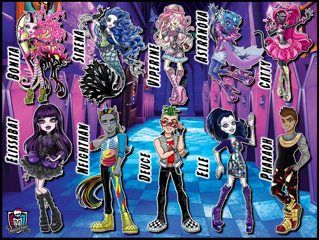 Monster High V2 wallpaper by TigerCubby ...