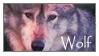 Cute Wolf Stamp by Kelii