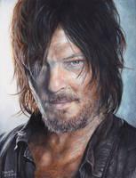 The Walking Dead- Daryl Dixon by Kelii