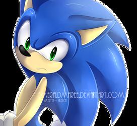 That cute blue guy. sketch by Myly14 *3* by EmeraldMaree