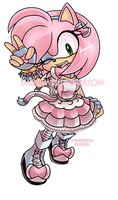 Amy has evolved into.... by EmeraldMaree