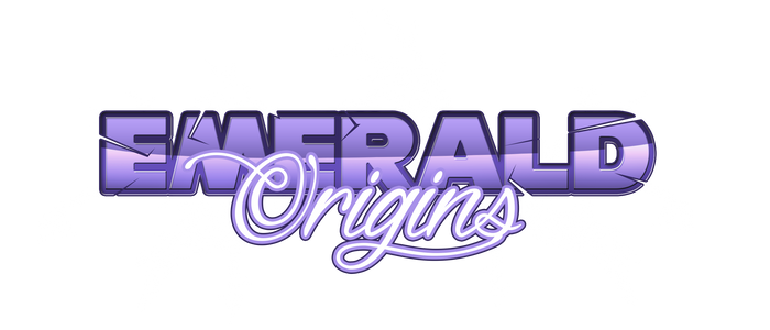 Emerald Origins Logo by EmeraldMaree