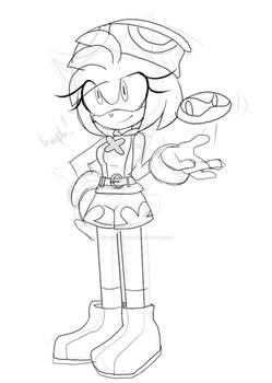 amitie amy doodle wip thing