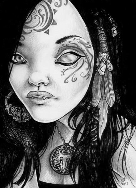 The Huntress by mirjaT