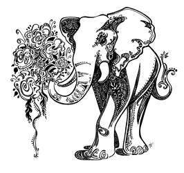 elephantasm by mirjaT