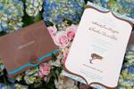 Wedding Invitation - bouquet