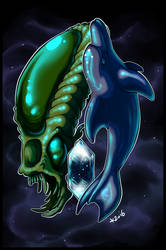 Ecco the Dolphin by kiaraneko