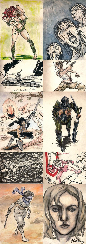 Sketchbook #3