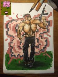 Ikari Warriors NEW RESOLUTION - Finished version