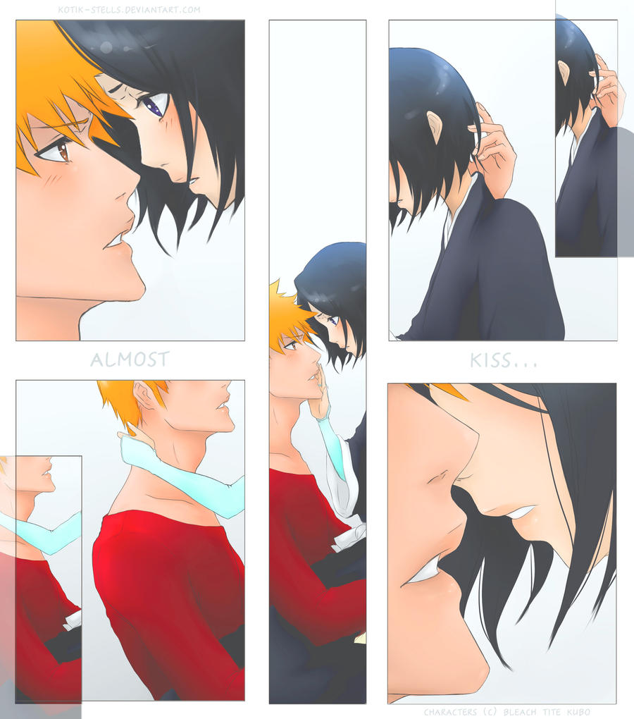 ichigo and rukia kiss - photo #22