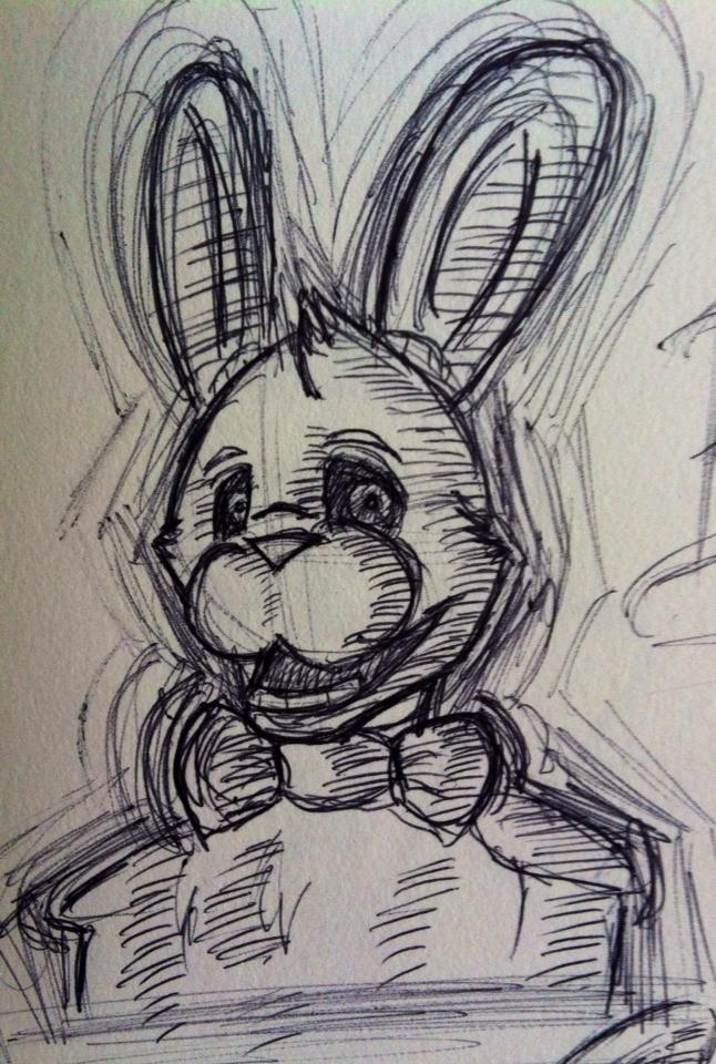 Bonnie Five Nights At Freddys By Capriciouscrow On Deviantart