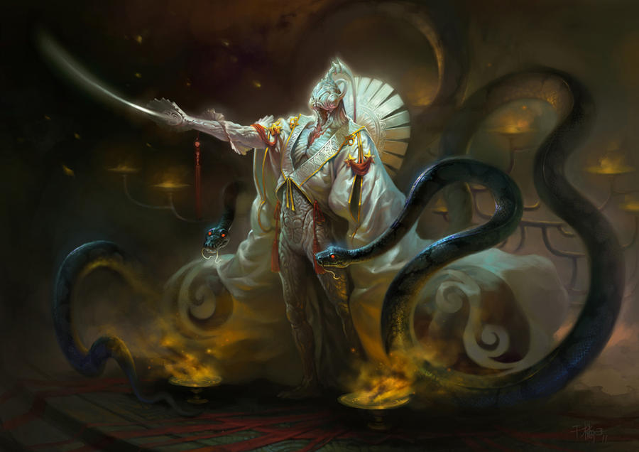 Anaconda prophet by fuckorange
