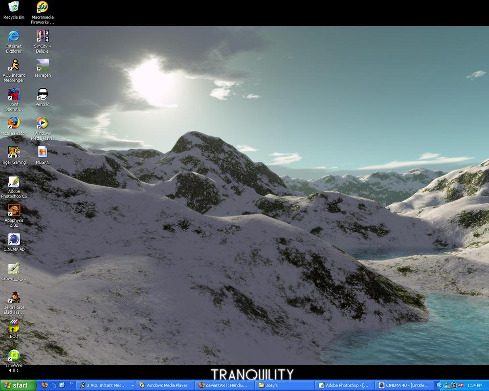 Desktop update 3.24.05 by Hendi5689