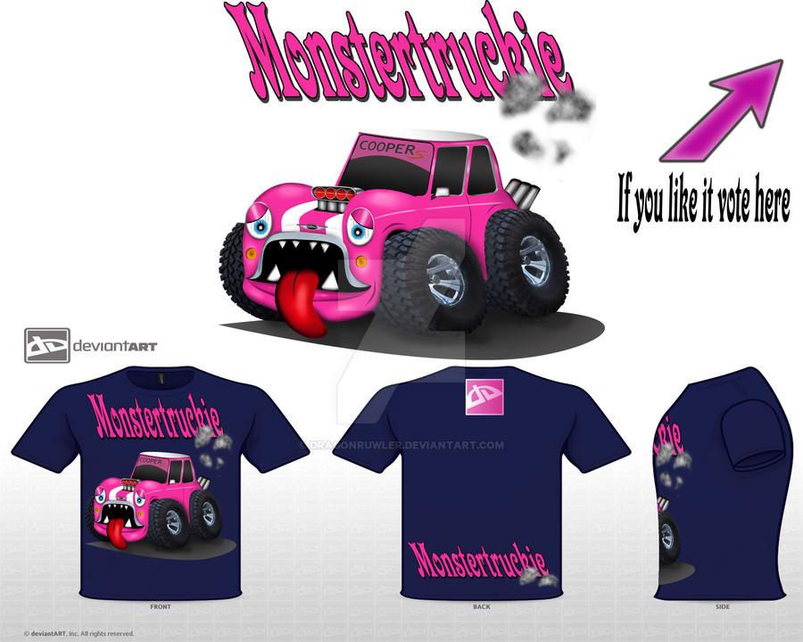 Mini Cooper S Monstertruckie