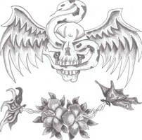 tattoo like design