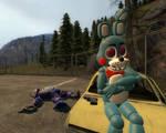 W Bonnie Vs Toy Bonnie : Toy Bonnie Wins !!