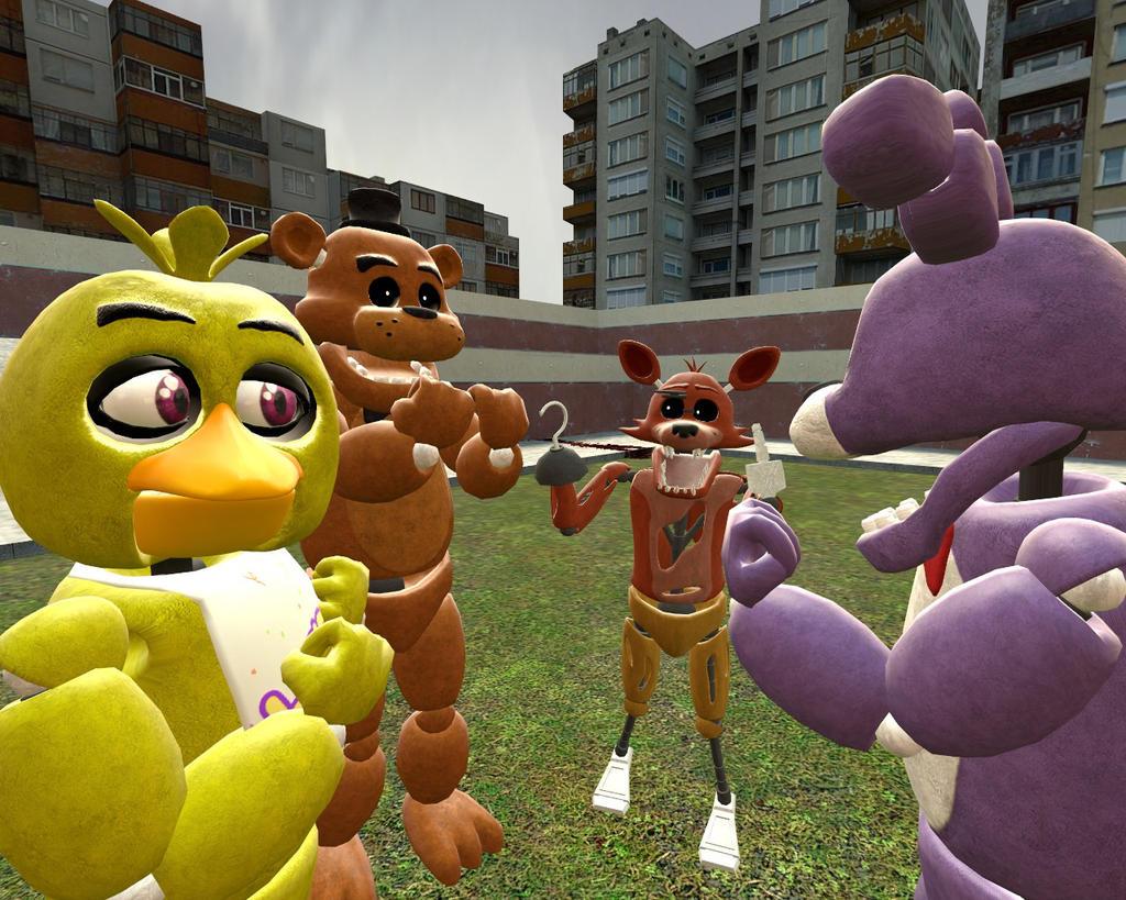Freddy, Bonnie y Foxy Listos para divertirse - YouTube