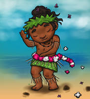 Hawaiian Dancer by VitaliaDi