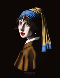 Vampire with a Pearl Earring
