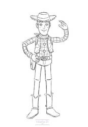 [Commission] Woody Sketch