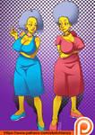 Patty and Selma