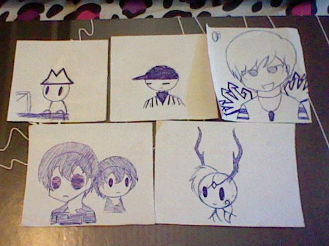 Walmart Doodles 6 by Hieiskittygirl