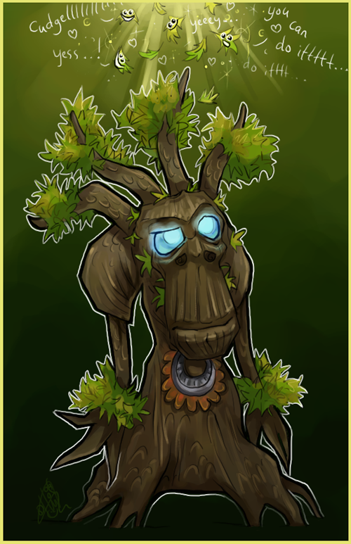 Commission: Treant chibi by liea on DeviantArt