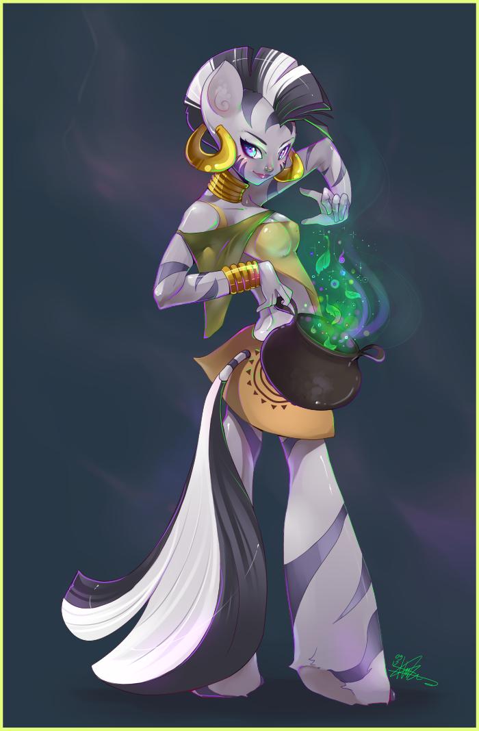 Zecora by liea