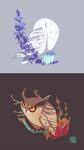 Indignant Owls