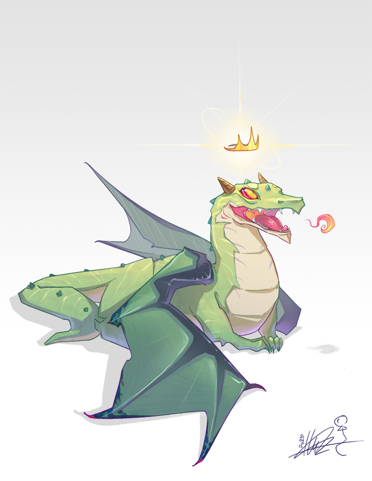 Anniversary Dragon by liea