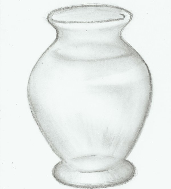 Still Life Drawings In Pencil With Shading